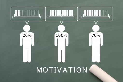 モチベーションって大事!モチベーションを保つことが何より優先かもしれない